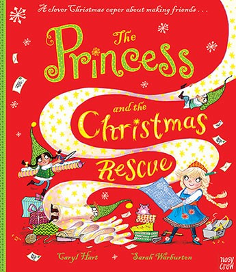 THE PRINCESS AND THE CHRISTMAS RESCUE PB
