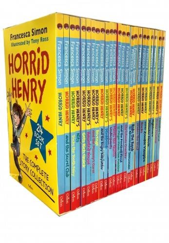 HORRID HENRY COLLECTION 10 BOOKS SET PACK