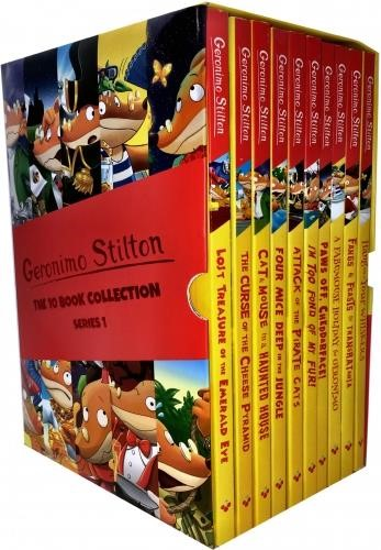 GERONIMO STILTON COLLECTION 10 BOOKS SET PACK