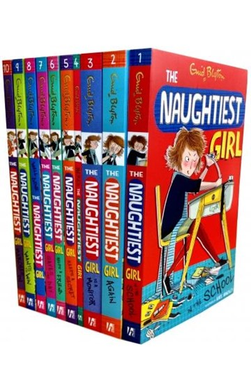 THE NAUGHTIEST GIRL COLLECTION 10 BOOKS SET PACK