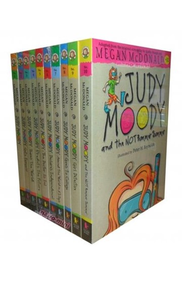 JUDY MOODY COLLECTION 10 BOOKS SET PACK