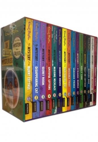 ENID BLYTON CLASSIC MYSTERY COLLECTION 15 BOOKS SET PACK