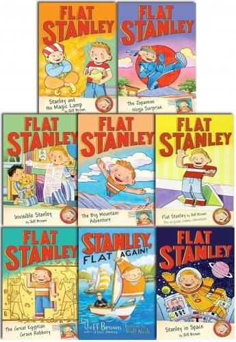 FLAT STANLEY COLLECTION 8 BOOKS SET PACK