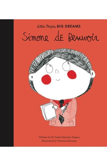 LITTLE PEOPLE BIG DREAMS-SIMONE DE BEAUVOIR HB