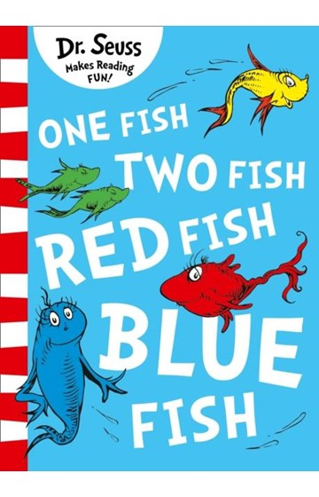 ONE FISH TWO FISH RED FISH BLUE FISH PB
