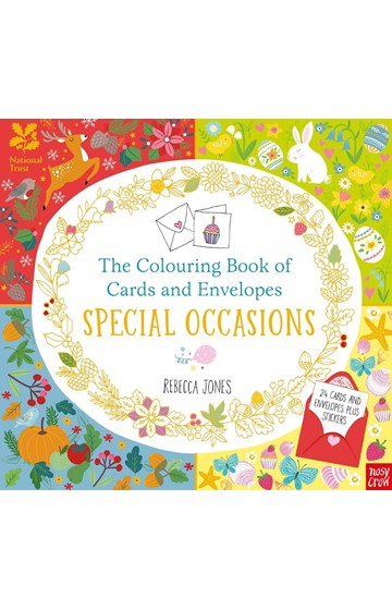 THE COLOURING BOOK OF CARDS AND ENVELOPES-SPECIAL OCCASIONS