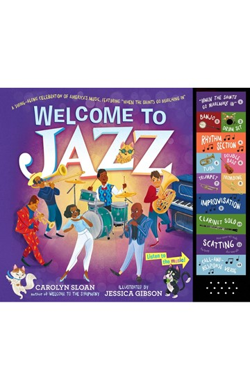 WELCOME TO JAZZ : A SWING-ALONG CELEBRATION OF AMERICA'S MUSIC FEATURING