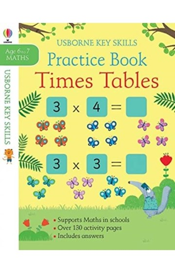 TIMES TABLES PRACTICE BOOK 6-7