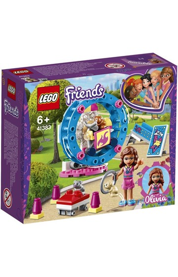 LEGO FRIENDS-41383 OLIVIA'S HAMSTER PLAYGROUND