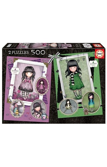 PUZZLE 2*500TEM.GORJUSS 17687 SUGAR AND SPICE +THE SCARF