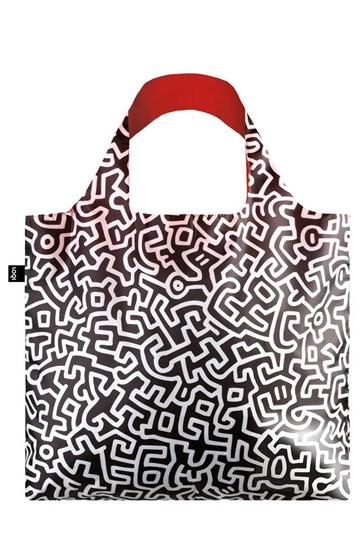 ΤΣΑΝΤΑ ΓΙΑ ΨΩΝΙΑ LOQI MUSEUM-KEITH HARING-UNTITLED