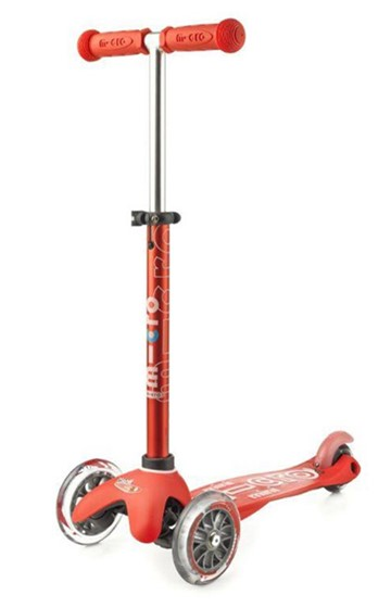 SCOOTER MINI MICRO DELUXE RED