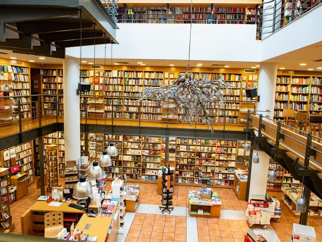 Τα βιβλιοπωλεία μας